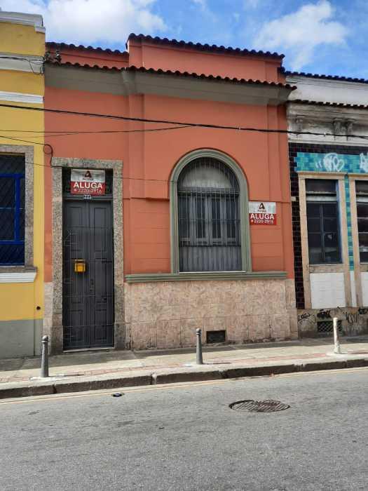 FACHADA - Casa de Vila 1 quarto para alugar Cidade Nova, Rio de Janeiro - R$ 900 - CTCV10021 - 27