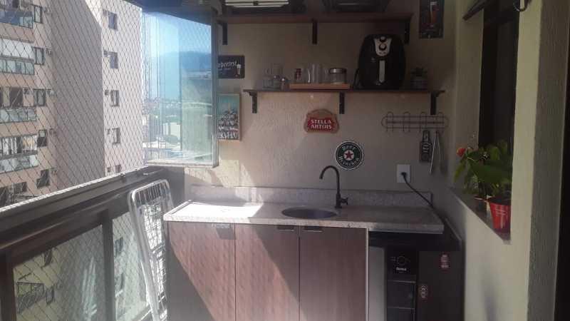 4. - Apartamento 2 quartos à venda Rio Comprido, Rio de Janeiro - R$ 519.000 - GRAP20055 - 5