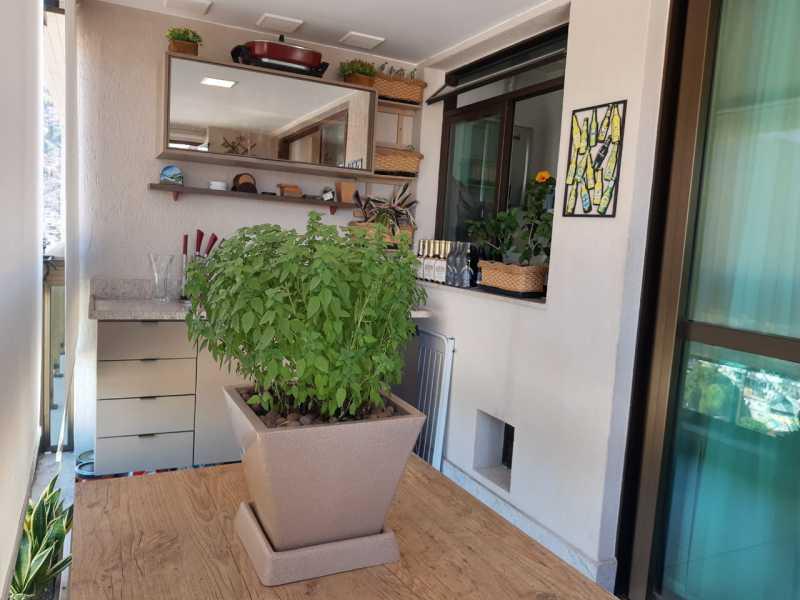 1. - Apartamento 3 quartos à venda Rio Comprido, Rio de Janeiro - R$ 598.000 - GRAP30040 - 3