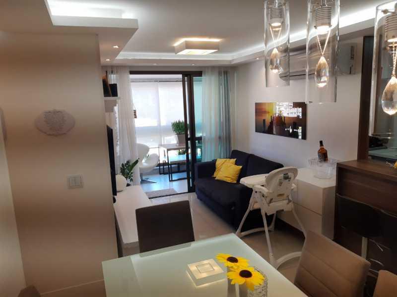 4. - Apartamento 3 quartos à venda Rio Comprido, Rio de Janeiro - R$ 598.000 - GRAP30040 - 6