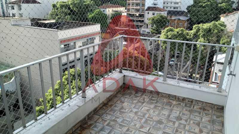 VARANDA 1 - Apartamento 2 quartos à venda Vila Isabel, Rio de Janeiro - R$ 370.000 - GRAP20069 - 15