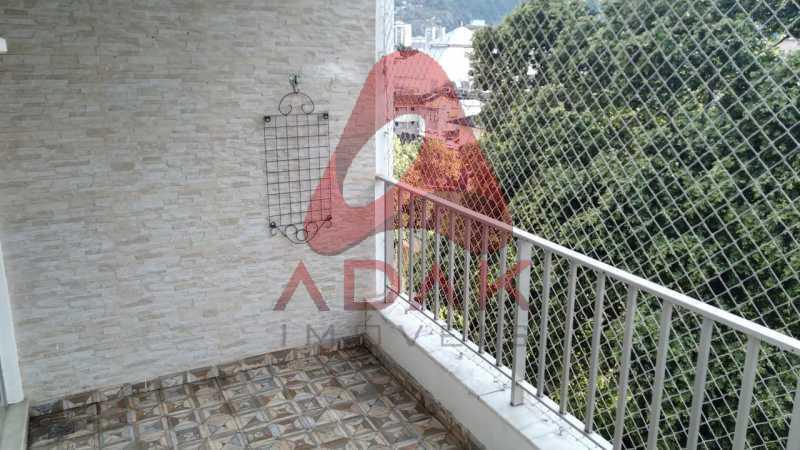 VARANDA - Apartamento 2 quartos à venda Vila Isabel, Rio de Janeiro - R$ 370.000 - GRAP20069 - 16
