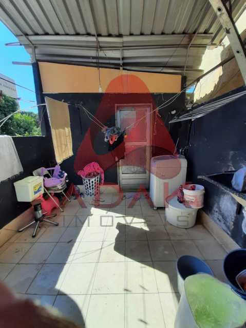 87a2b639-7c15-4a3f-a43d-0411f9 - Casa de Vila 1 quarto à venda Centro, Rio de Janeiro - R$ 120.000 - CTCV10020 - 24