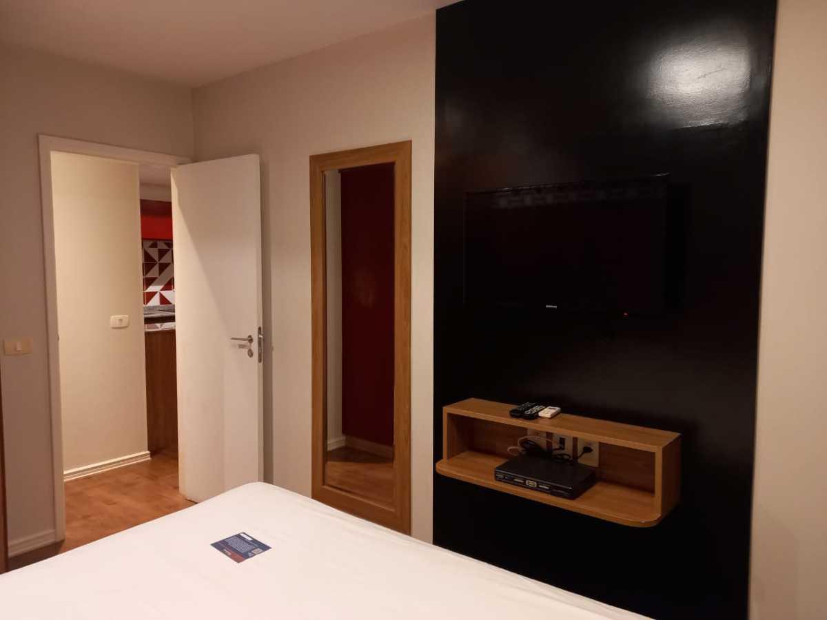 Sala - Apartamento à venda Avenida Rainha Elizabeth da Bélgica,Ipanema, Rio de Janeiro - R$ 570.000 - CPAP11825 - 3