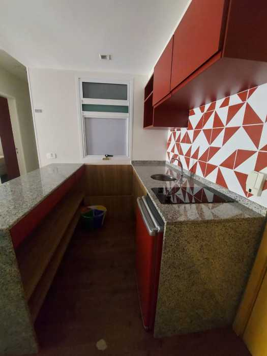 Cozinha - Apartamento à venda Avenida Rainha Elizabeth da Bélgica,Ipanema, Rio de Janeiro - R$ 570.000 - CPAP11825 - 7