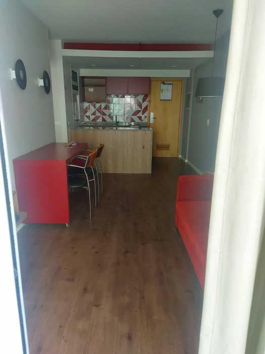 Sala/ Cozinha - Apartamento à venda Avenida Rainha Elizabeth da Bélgica,Ipanema, Rio de Janeiro - R$ 570.000 - CPAP11825 - 14