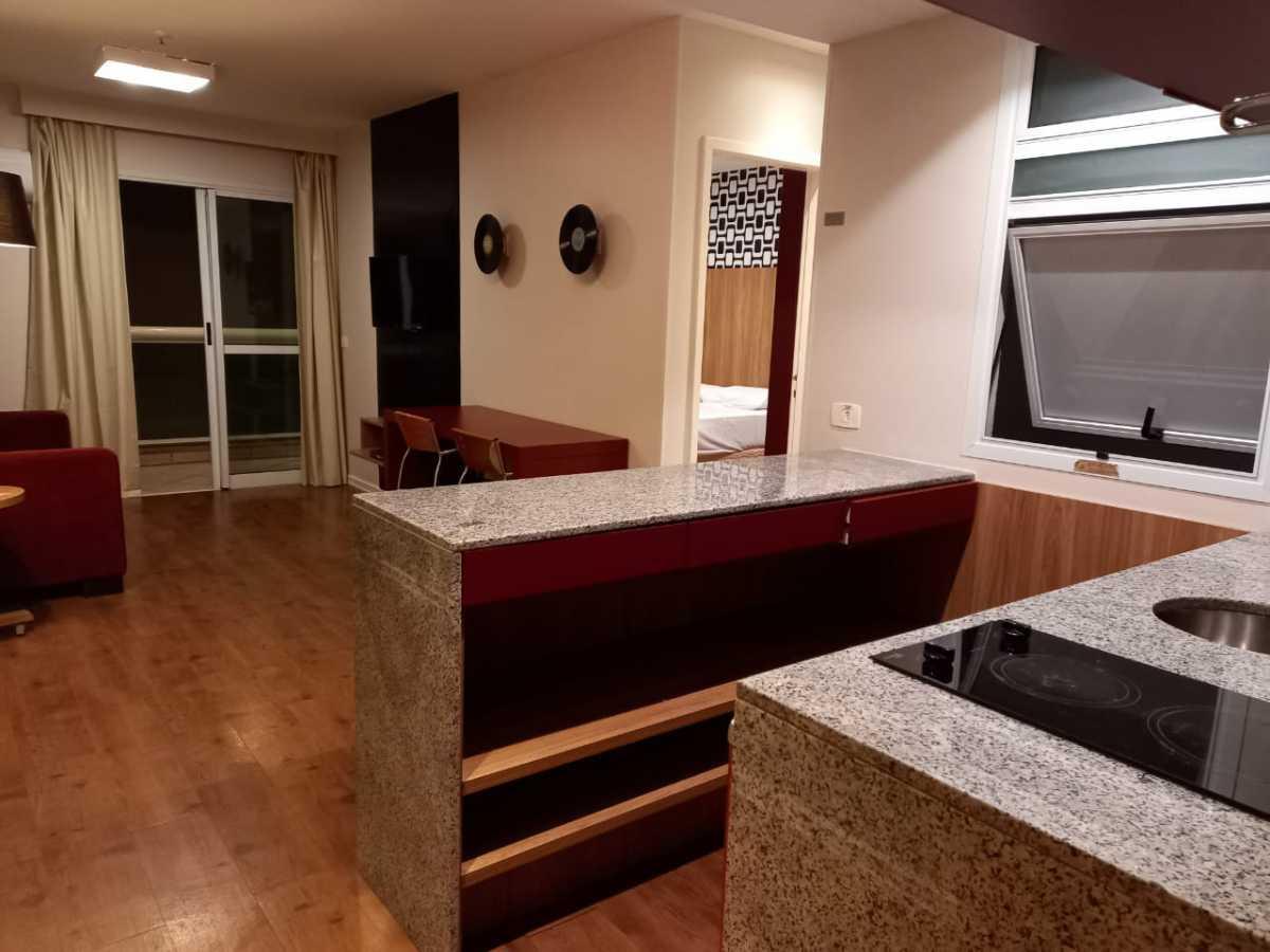 Cozinha/ Sala - Apartamento à venda Avenida Rainha Elizabeth da Bélgica,Ipanema, Rio de Janeiro - R$ 570.000 - CPAP11825 - 10