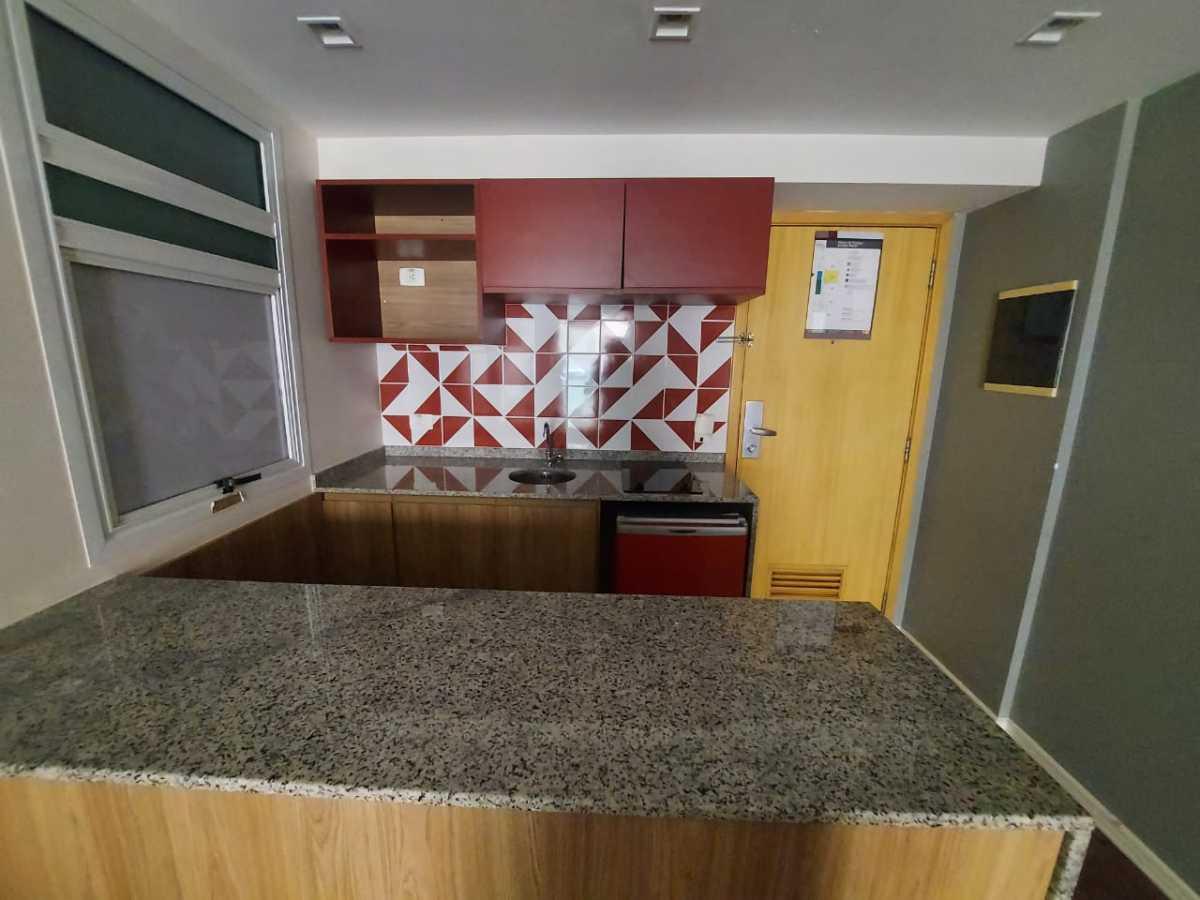 Cozinha - Apartamento à venda Avenida Rainha Elizabeth da Bélgica,Ipanema, Rio de Janeiro - R$ 570.000 - CPAP11825 - 8