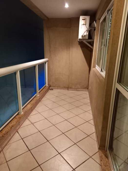 Varanda - Apartamento à venda Avenida Rainha Elizabeth da Bélgica,Ipanema, Rio de Janeiro - R$ 570.000 - CPAP11825 - 12
