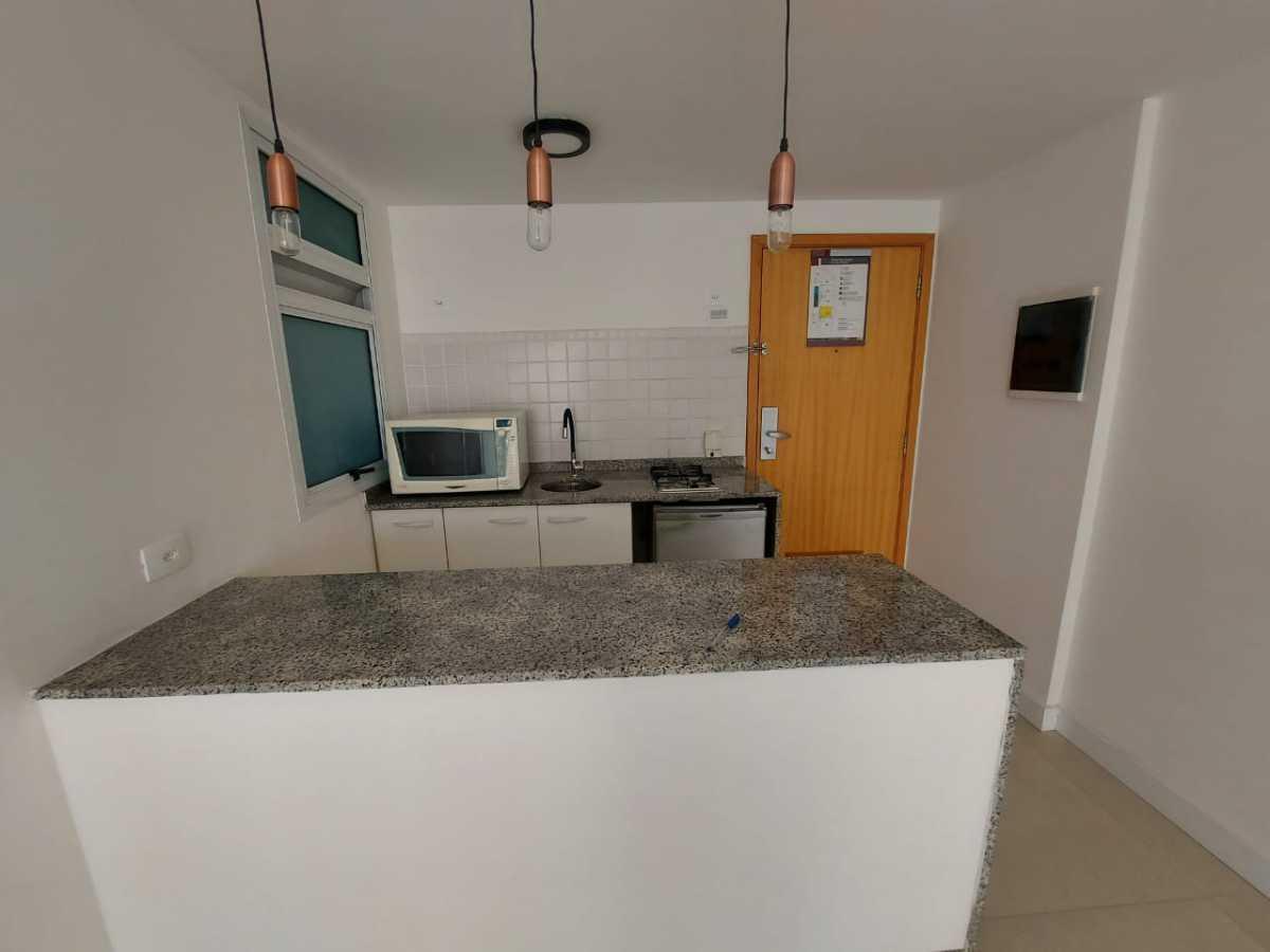 Cozinha - Apartamento à venda Avenida Rainha Elizabeth da Bélgica,Ipanema, Rio de Janeiro - R$ 550.000 - CPAP11826 - 7