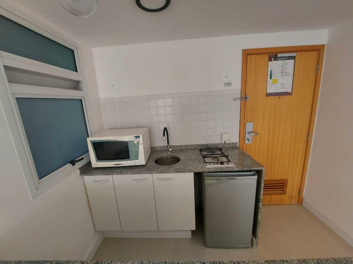 Cozinha - Apartamento à venda Avenida Rainha Elizabeth da Bélgica,Ipanema, Rio de Janeiro - R$ 550.000 - CPAP11826 - 6