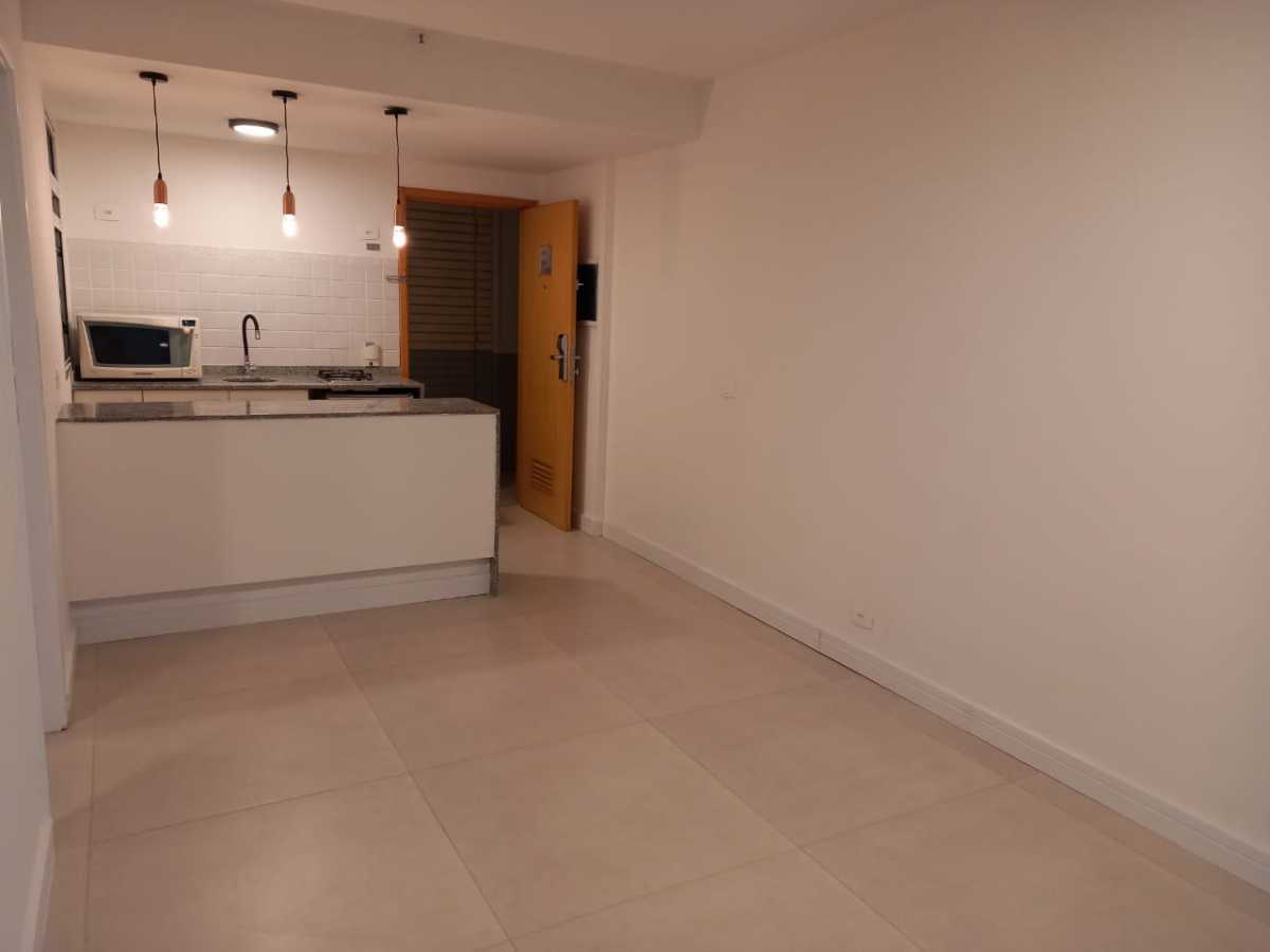 Sala/ Cozinha - Apartamento à venda Avenida Rainha Elizabeth da Bélgica,Ipanema, Rio de Janeiro - R$ 550.000 - CPAP11826 - 1