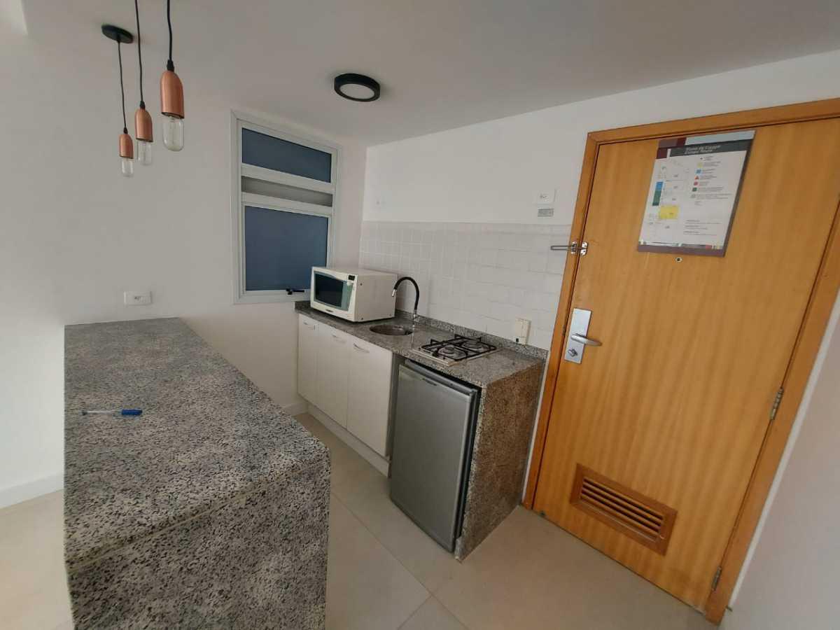 Cozinha - Apartamento à venda Avenida Rainha Elizabeth da Bélgica,Ipanema, Rio de Janeiro - R$ 550.000 - CPAP11826 - 3