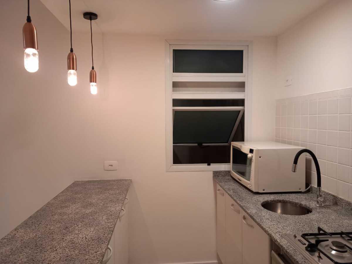 Cozinha - Apartamento à venda Avenida Rainha Elizabeth da Bélgica,Ipanema, Rio de Janeiro - R$ 550.000 - CPAP11826 - 4