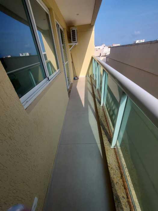 Varanda - Apartamento à venda Avenida Rainha Elizabeth da Bélgica,Ipanema, Rio de Janeiro - R$ 550.000 - CPAP11826 - 10