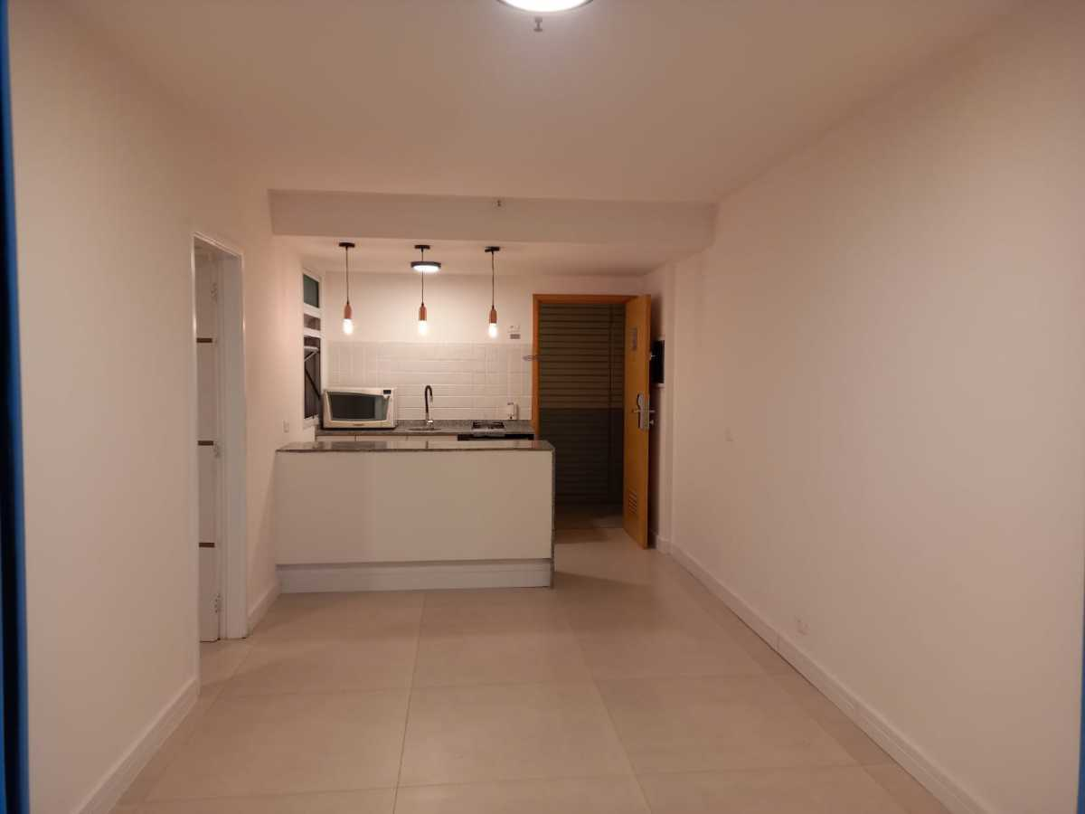 Sala/ Cozinha - Apartamento à venda Avenida Rainha Elizabeth da Bélgica,Ipanema, Rio de Janeiro - R$ 550.000 - CPAP11826 - 8