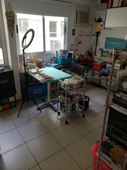 Foto 2 do quarto dois da porta - Apartamento 2 quartos à venda Catete, Rio de Janeiro - R$ 930.000 - CTAP20765 - 3