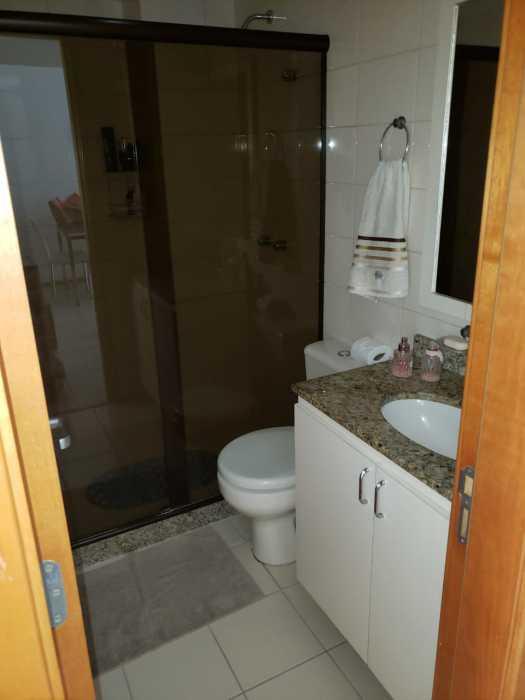 Foto banheiro social - Apartamento 2 quartos à venda Catete, Rio de Janeiro - R$ 930.000 - CTAP20765 - 6