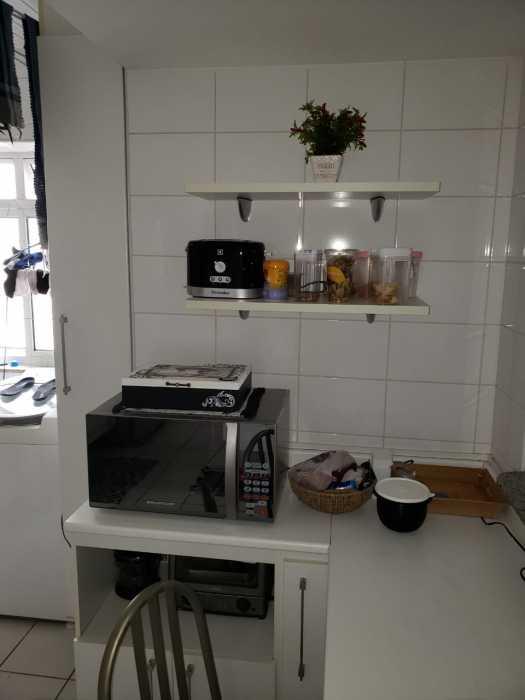 Foto cozinha interna - Apartamento 2 quartos à venda Catete, Rio de Janeiro - R$ 930.000 - CTAP20765 - 10