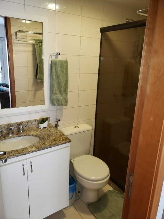 Foto da suíte do quarto - Apartamento 2 quartos à venda Catete, Rio de Janeiro - R$ 930.000 - CTAP20765 - 11