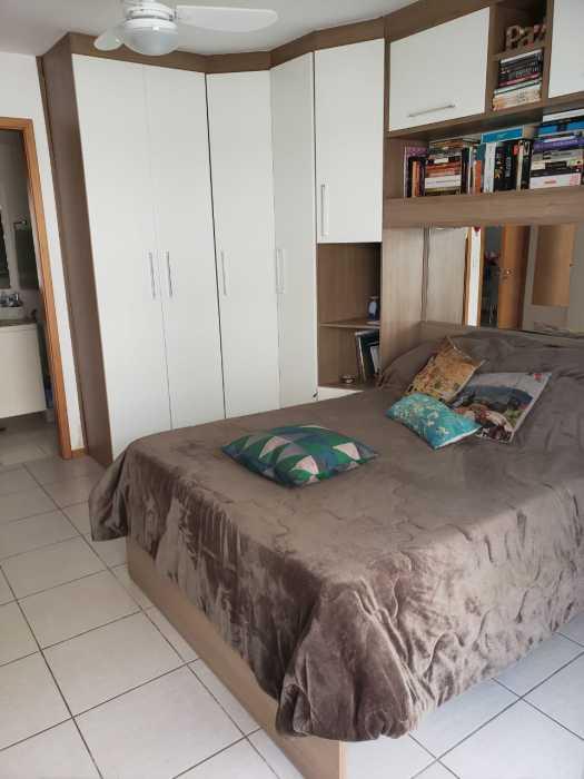 Foto do quarto da porta da var - Apartamento 2 quartos à venda Catete, Rio de Janeiro - R$ 930.000 - CTAP20765 - 13