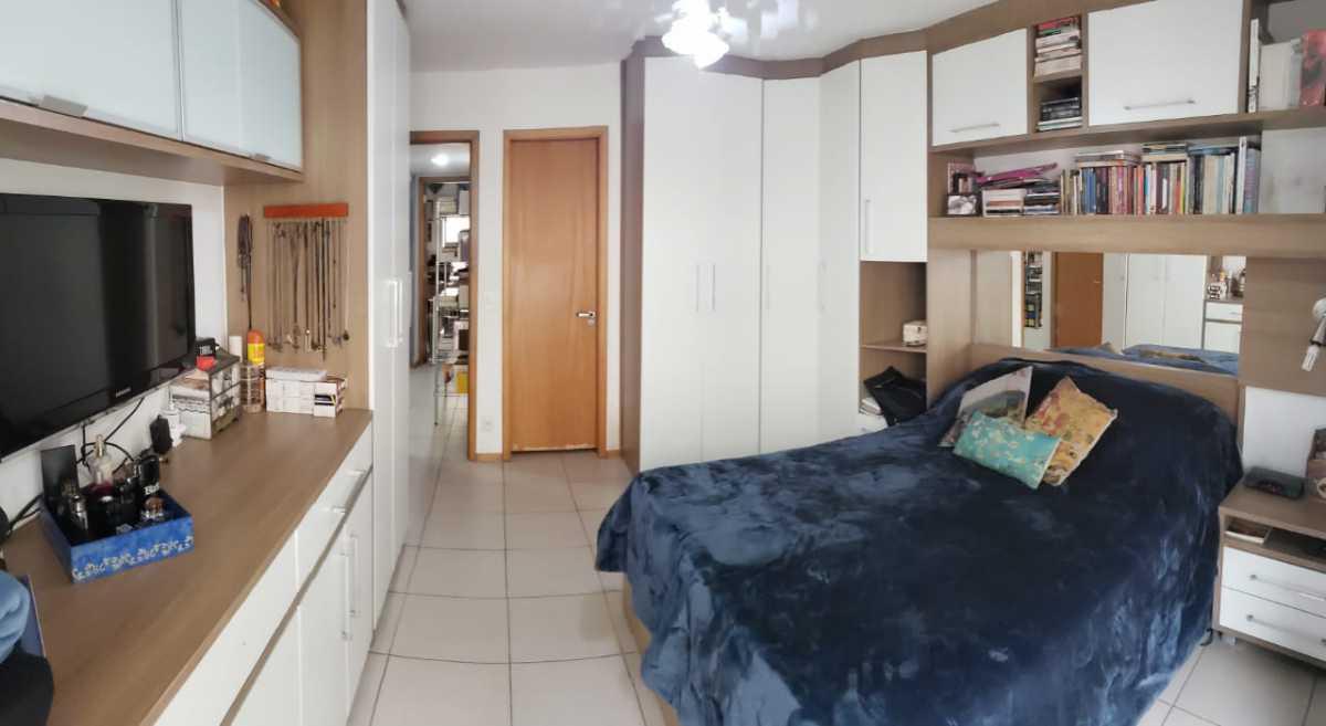 Foto dois do quarto da porta d - Apartamento 2 quartos à venda Catete, Rio de Janeiro - R$ 930.000 - CTAP20765 - 18