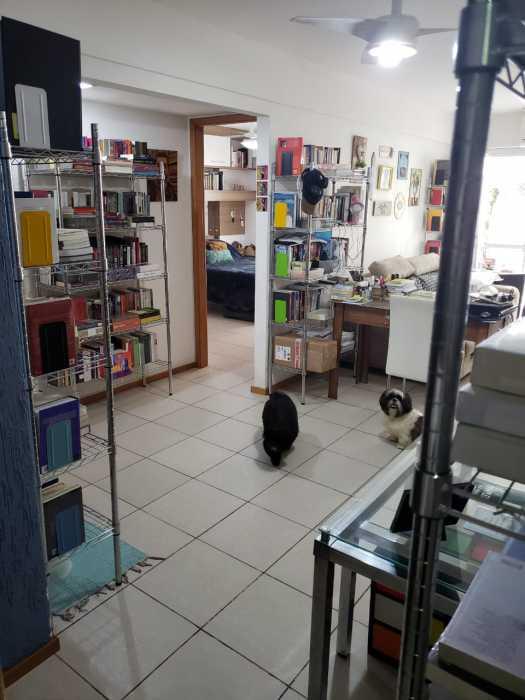 Foto dois sala da cozinha - Apartamento 2 quartos à venda Catete, Rio de Janeiro - R$ 930.000 - CTAP20765 - 19