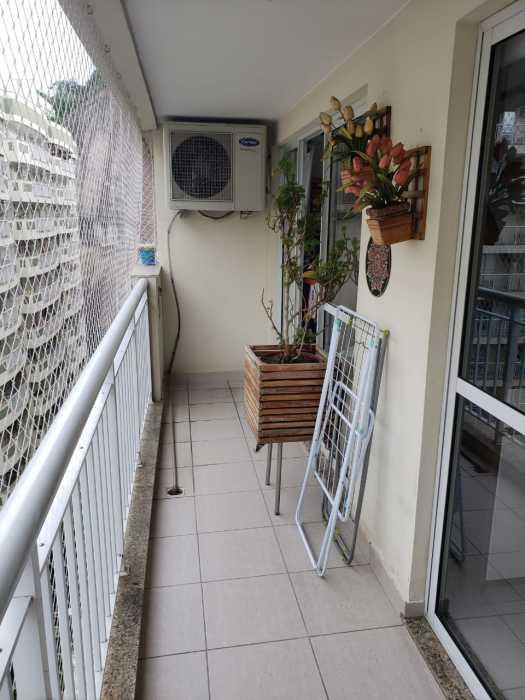 Foto dois varanda lado direito - Apartamento 2 quartos à venda Catete, Rio de Janeiro - R$ 930.000 - CTAP20765 - 21