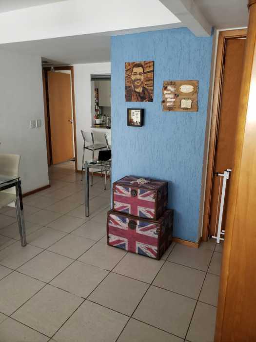 Foto parede azul - Apartamento 2 quartos à venda Catete, Rio de Janeiro - R$ 930.000 - CTAP20765 - 24