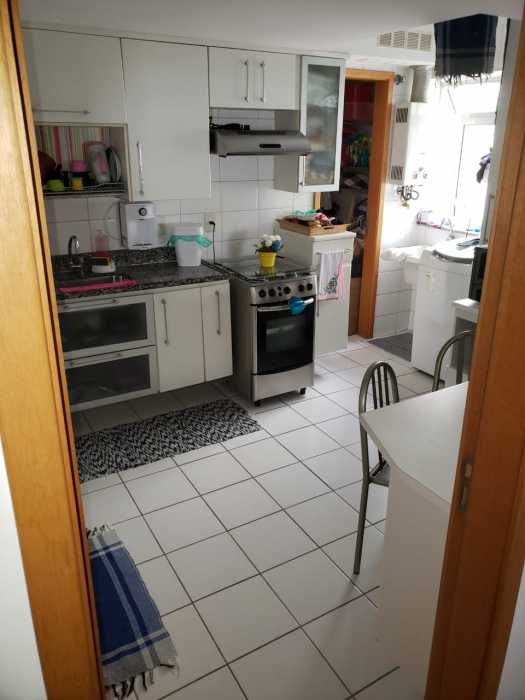 Foto porta cozinha - Apartamento 2 quartos à venda Catete, Rio de Janeiro - R$ 930.000 - CTAP20765 - 25
