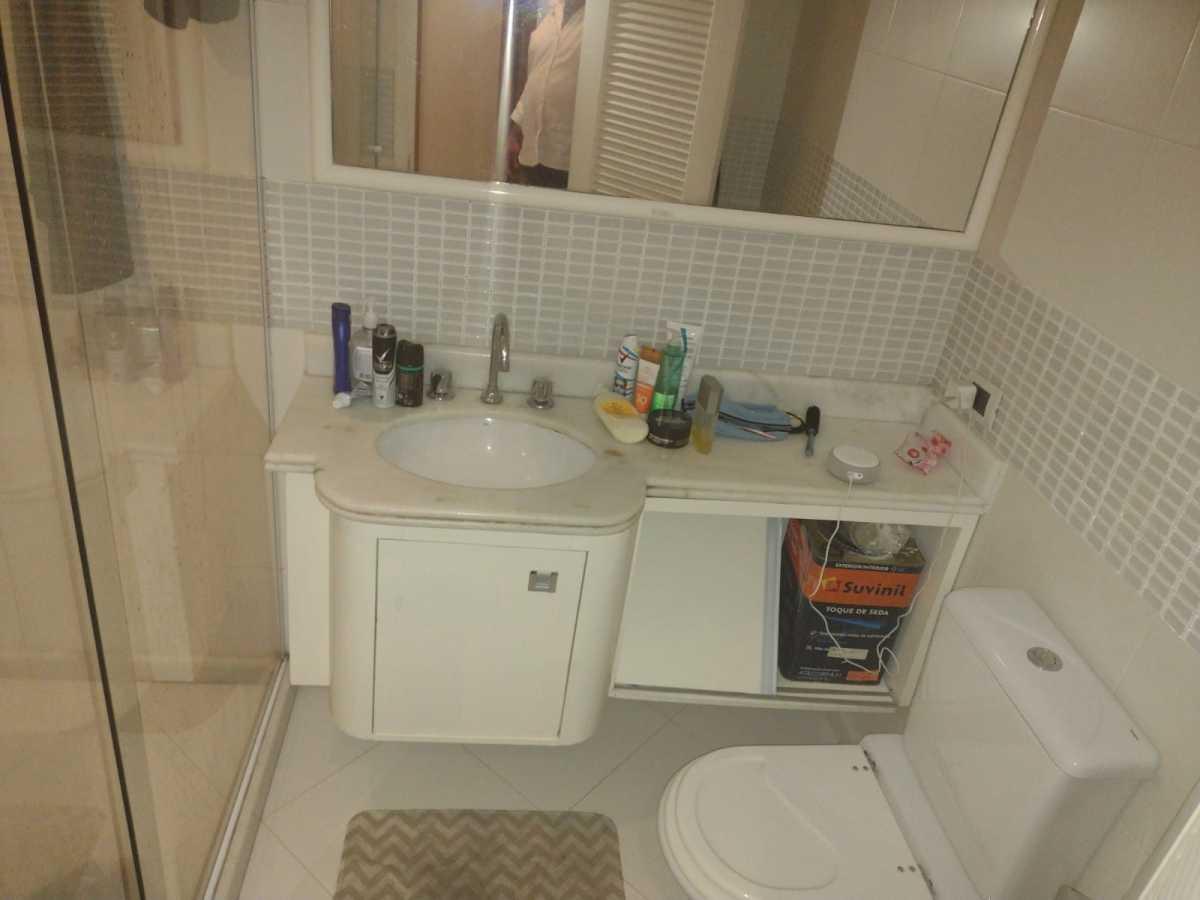 Banheiro 1 - Flat à venda Avenida Princesa Isabel,Copacabana, Rio de Janeiro - R$ 550.000 - CPFL20015 - 25