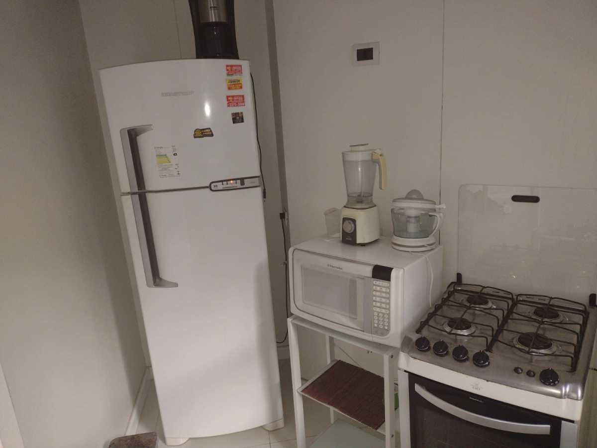 Cozinha - Flat à venda Avenida Princesa Isabel,Copacabana, Rio de Janeiro - R$ 550.000 - CPFL20015 - 23