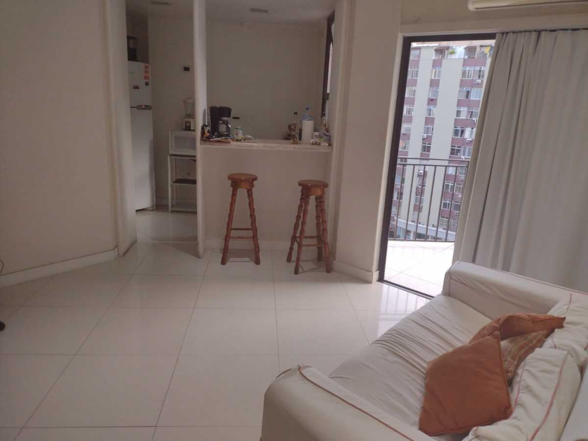 Sala - Flat à venda Avenida Princesa Isabel,Copacabana, Rio de Janeiro - R$ 550.000 - CPFL20015 - 4