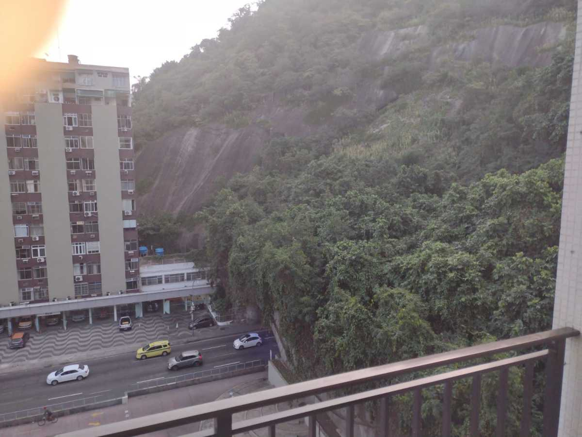 Varanda/ Vista - Flat à venda Avenida Princesa Isabel,Copacabana, Rio de Janeiro - R$ 550.000 - CPFL20015 - 27
