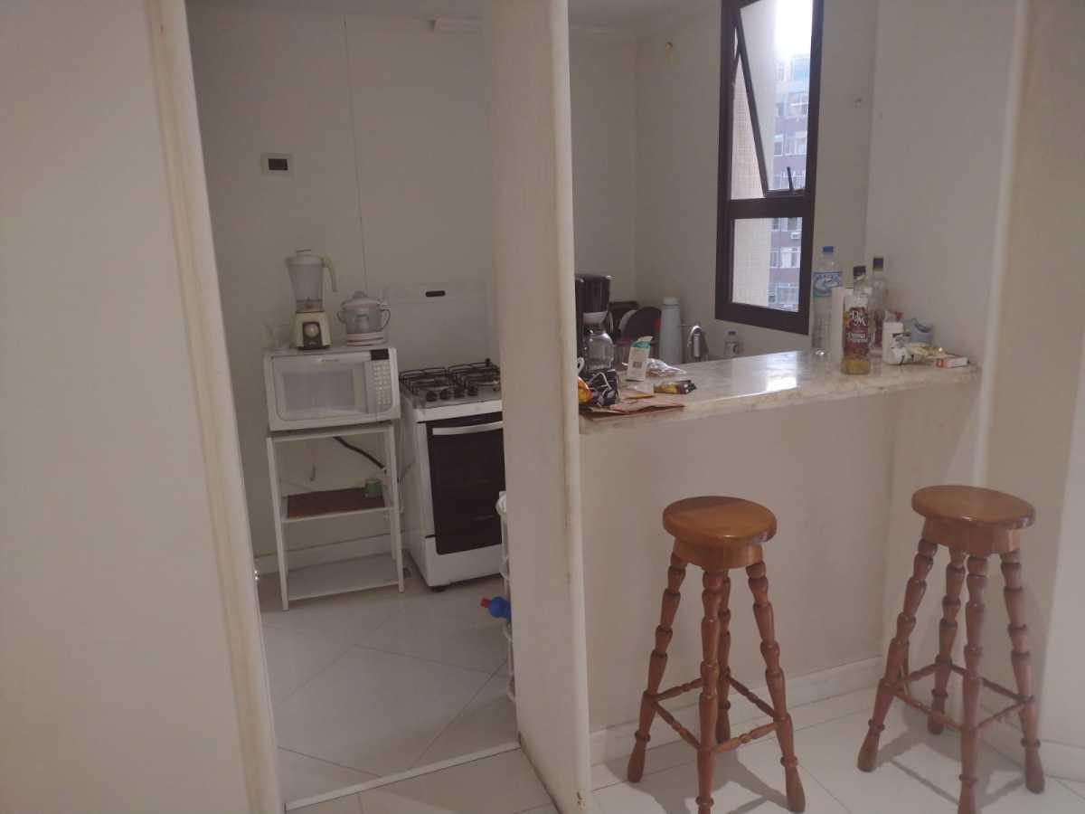 Cozinha - Flat à venda Avenida Princesa Isabel,Copacabana, Rio de Janeiro - R$ 550.000 - CPFL20015 - 21