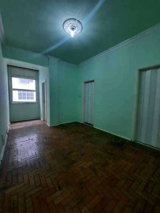 Sala - Apartamento 1 quarto para alugar Centro, Rio de Janeiro - R$ 790 - CTAP11182 - 1