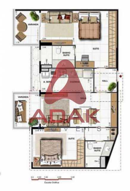 sao corrando26 - Apartamento 2 quartos à venda São Conrado, Rio de Janeiro - R$ 860.000 - CPAP20622 - 31