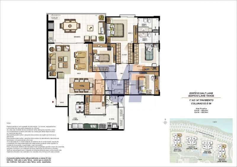 95620 - Apartamento à venda Avenida dos Flamboyants,Barra da Tijuca, Rio de Janeiro - R$ 1.700.000 - PCAP40005 - 29