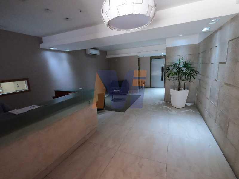 HALL DO PRÉDIO - Apartamento 2 quartos à venda Jardim Botânico, Rio de Janeiro - R$ 1.150.000 - PCAP20223 - 7