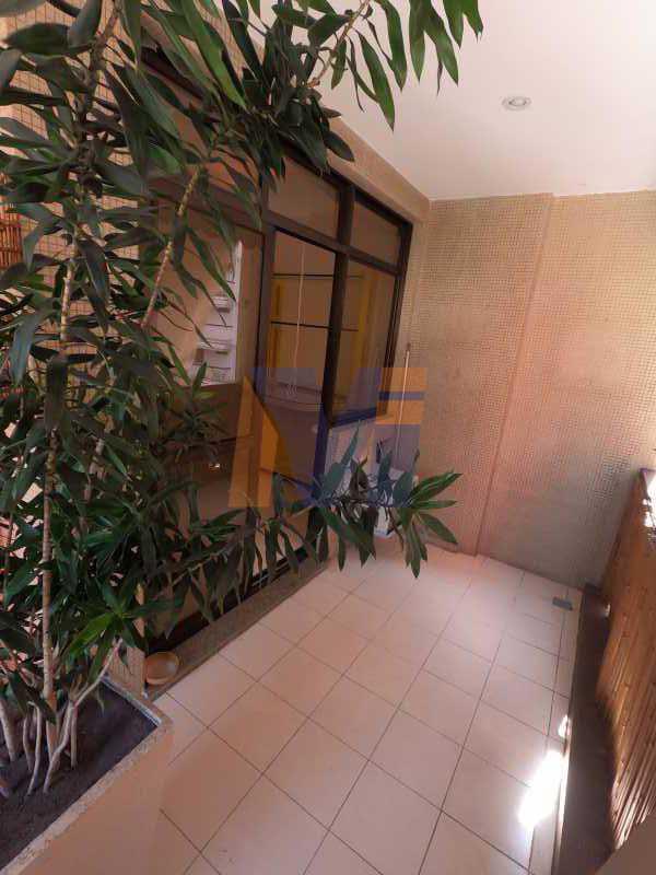 VARANDA - Apartamento 2 quartos à venda Jardim Botânico, Rio de Janeiro - R$ 1.150.000 - PCAP20223 - 1