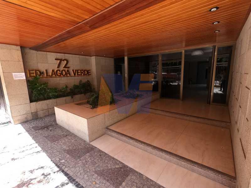 ENTRADA DO PRÉDIO - Apartamento 2 quartos à venda Jardim Botânico, Rio de Janeiro - R$ 1.150.000 - PCAP20223 - 17