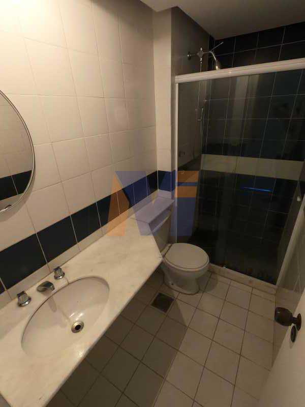 BANHEIRO SOCIAL - Apartamento 3 quartos para alugar Jardim Botânico, Rio de Janeiro - R$ 3.500 - PCAP30059 - 14