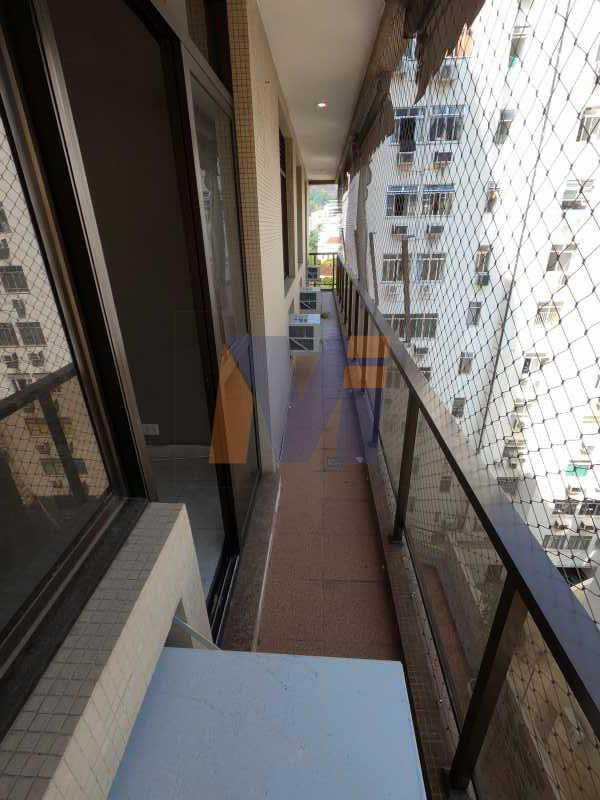 VARANDA - Apartamento 3 quartos para alugar Jardim Botânico, Rio de Janeiro - R$ 3.500 - PCAP30059 - 4