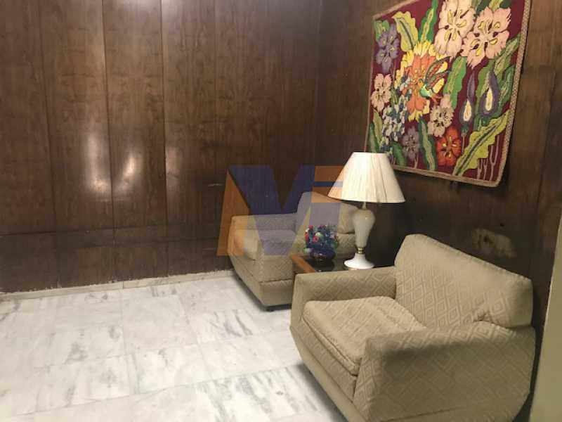 RECEPÇÃO DO PRÉDIO - Apartamento 2 quartos à venda Tijuca, Rio de Janeiro - R$ 480.000 - PCAP20239 - 24