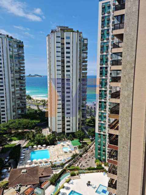 vista varanda - Apartamento 3 quartos à venda Barra da Tijuca, Rio de Janeiro - R$ 1.840.000 - PCAP30067 - 1