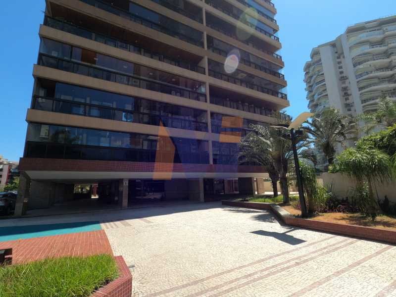 fachada e entrada do prédio  - Apartamento 3 quartos à venda Barra da Tijuca, Rio de Janeiro - R$ 1.840.000 - PCAP30067 - 6