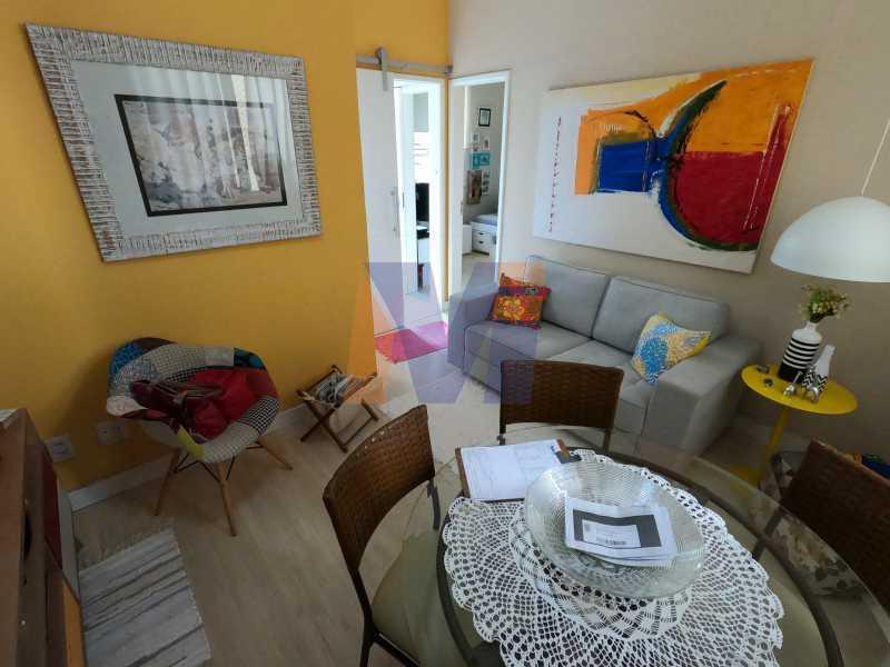 G0330813 - Apartamento à venda Rua Conde de Bonfim,Tijuca, Rio de Janeiro - R$ 380.000 - PCAP20241 - 3