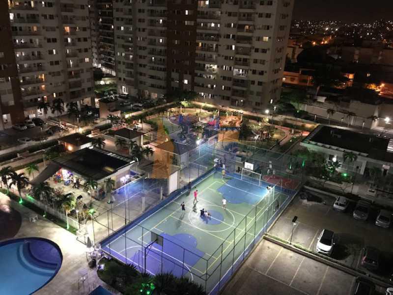 ÁREA DE LAZER FOTO NOITE - Apartamento 2 quartos à venda Vicente de Carvalho, Rio de Janeiro - R$ 380.000 - PCAP20253 - 3