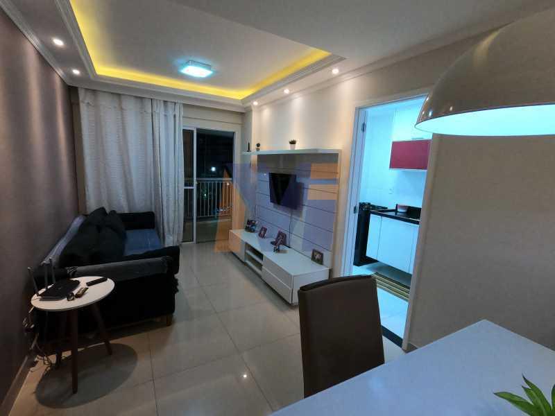 SALA DOIS AMBIENTES - Apartamento 3 quartos à venda Vicente de Carvalho, Rio de Janeiro - R$ 488.000 - PCAP30070 - 3