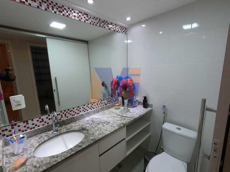 BANHEIRO SOCIAL - Apartamento 3 quartos à venda Vicente de Carvalho, Rio de Janeiro - R$ 488.000 - PCAP30070 - 13